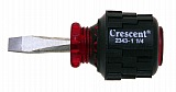 """Crescent 2343114 1 1/4"""" Series 2000 Square Shank Stubby Screwdriver"""