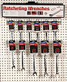 Crescent CFRW2 Display, Ratcheting Wrenches, Individual, SAE