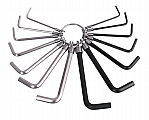 MIT 2500 14-pc. Hex Key Wrench Set (SAE/MM)