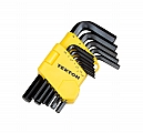 MIT 25212 13-pc. Short Arm Hex Key Wrench Set (MM)