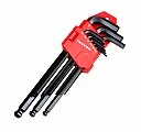 MIT 25215 9-pc. Long Arm Ball Hex Key Wrench Set (SAE)