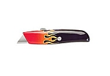 MIT 69155 Retractable Utility Knife w/Flame Pattern