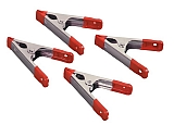 "MIT 3896 4-pc. 4"" Steel Spring Clamps"