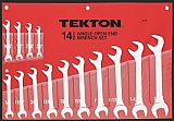 MIT 2008 14-pc. Angle Open End Wrench Set (SAE)