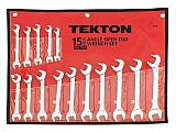 MIT 2009 15-pc. Angle Open End Wrench Set (MM)