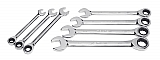 MIT 2100 7-pc. Ratcheting Combination Wrench Set (SAE)
