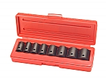 "MIT 4790 9-pc. 3/8"" Dr. Shallow Impact Socket Set (SAE)"