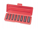 "MIT 4830 9-pc. 1/4"" Dr. Deep Impact Socket Set (MM)"
