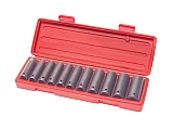 "MIT 4855 12-pc. 1/2"" Dr. Deep Impact Socket Set (SAE)"