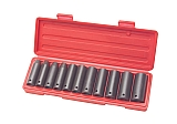 "MIT 4870 12-pc. 1/2"" Dr. Deep Impact Socket Set (MM)"