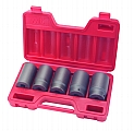"MIT 4886 5-pc. 1/2"" Dr. Deep Jumbo Impact Socket Set (SAE)"