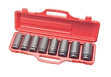"MIT 4891 9-pc. 3/4"" Dr. Deep Impact Socket Set (SAE)"