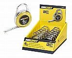 MIT 60404 6' Mini Clip-On Tape Measure