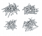 MIT 6565 100-pc. Assorted Rivets