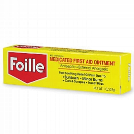 35183f Swift First Aid 12 Ounce Tube Foille Burn Ointment 2 Per