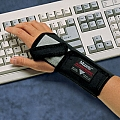 "Allegro 7109-02 MaxRist, Wrist Support, Right, Black, Medium 6 1/2"" x 7 1/2"""