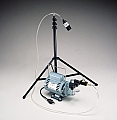 Allegro 9803 T-100 Allegro High Volume Sampling Pump, with Stand, Rotary Vane