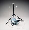 Allegro 9803 T-100 Allegro High Volume Sampling Pump, with Stand, Rotary Vane