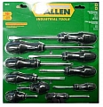 Allen ALN66617G 10Pc Screw Driver Set