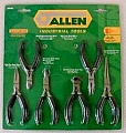 Allen ALN66610G 6Pc Mini Pliers Set