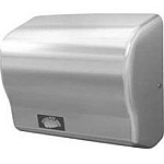 American Dryer GX1-C Steel Chrome GX Series Automatic Hand Dryer, 110-120V
