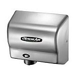 American Dryer GXT9-C Steel Chrome Hand Dryer, 100-240V, 50/60 Hz