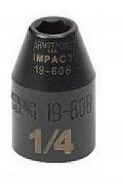 "Armstrong Tools Armstrong 19-608 6 Point 3/8 Inch Drive Impact Socket, 1/4"" at Sears.com"