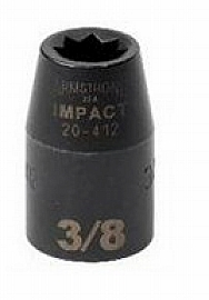 "Armstrong Tools Armstrong 20-424 8 Point 1/2 Inch Drive Impact Socket, 3/4"" at Sears.com"