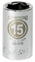 Armstrong Tools Armstrong 39-010 1/2 Inch Drive 6 Point Metric Standard Length Socket,10MM at Sears.com