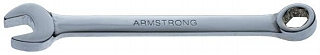 Armstrong 52-004 6 Point Metric Full Polish Short Combination Wrench, 4MM