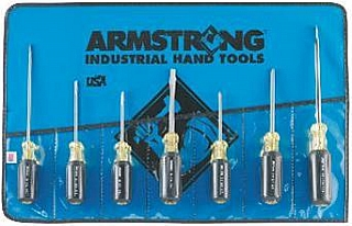 Armstrong Tools Armstrong 66-614 7 Pc Standard, Phillips, Cabinet Screwdriver Set at Sears.com