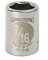"Armstrong 11-011 Socket 3/8"" Drive 6 Point 11/32"