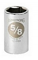 """Armstrong 12-012 Socket 1/2"""" Drive 6 Point 3/8"""