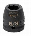 Armstrong 21-434 Impact Socket 3/4 Drive 8 Point 1-1/16