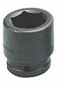 Armstrong 24-064 6 Point 2-1/2 Inch Drive Impact Socket, 2""