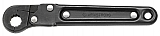 """Armstrong 28-312 Ratcheting Flare Nut Wrench, 3/8"""" Opening"""