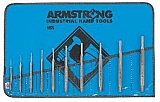 Armstrong 70-552 Set 70-552 10 Pc Tool Steel Pin Punch Set