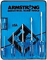 Armstrong 66-608 6 Pc Standard Round Screwdriver Set