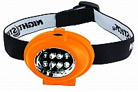 Bayco NSP-2228 Headlamp, orange-soft touch, Lumens 8/8
