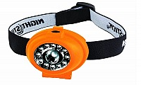 Bayco NSP-2232 Headlamp, orange-soft touch, Lumens 65/24