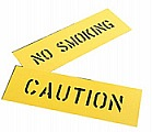 CH Hanson 12400 NO SMOKING Safety Sign Stencil