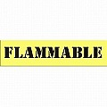 CH Hanson 12410 FLAMMABLE Safety Sign Stencil