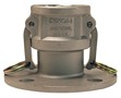 "Dixon 100-DL-SS 1"" Stainless Coupler x 150# ASA"