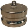 "Dixon 100-DP-SS 1"" Stainless Dust Plug"