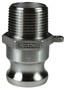 "Dixon 100-F-SS 1"" Stainless Male Adapter x Male"