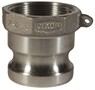 "Dixon 100-A-AL 1"" Alum Male Adapter x Female NPT"