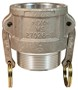 "Dixon 100-B-AL 1"" Alum Female Coupler x Male NPT"