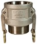 "Dixon 100-B-SS 1"" Stainless Female Coupler x Male"