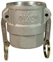 "Dixon 100-D-AL 1"" Alum Female Coupler x Female NPT"