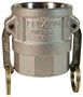 "Dixon 100-D-SS 1"" Stainless Female Coupler x"